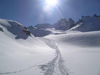 Skitour Pizol